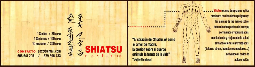 Díptico estudio de Shiatsu