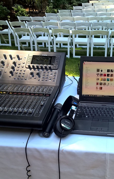 Our Midas M32R console