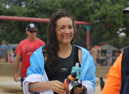Swimming Upstream - Diary of an Amateur Open Water Swimmer