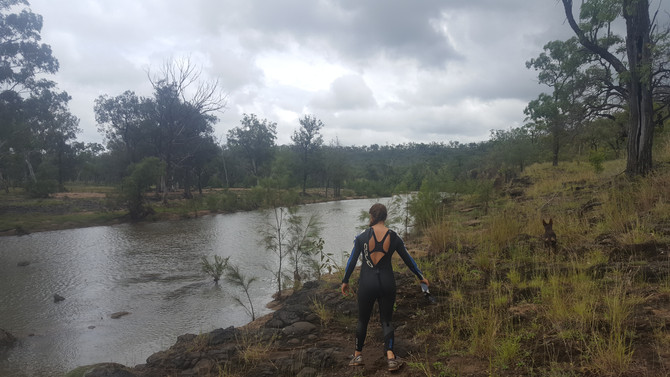 In Search of a Swimming Spot