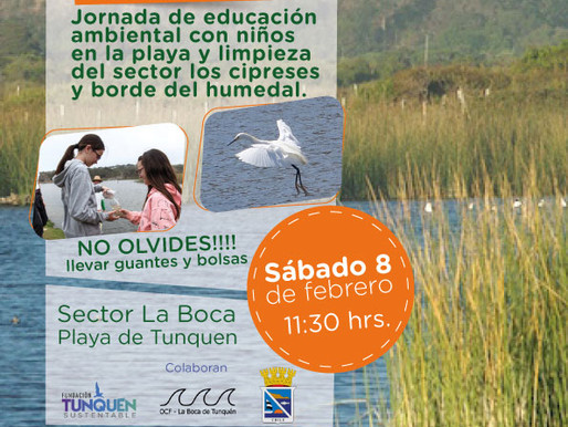 Te invitamos a celebrar el día Internacional de los Humedales en Tunquén