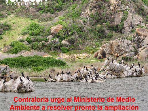 Contraloría urge al Ministerio de Medio Ambiente a resolver pronto la ampliación del Santuario de la