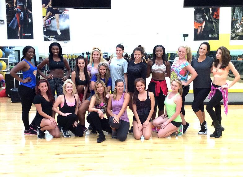 Orlando Choreographer, Central FL Choreographer, Orlando Predators AFL, Prowlers Dancers, Arena Football Dancers