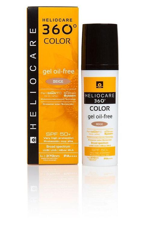 Heliocare® 360˚ Oil Free Gel Beige SPF50 50ml