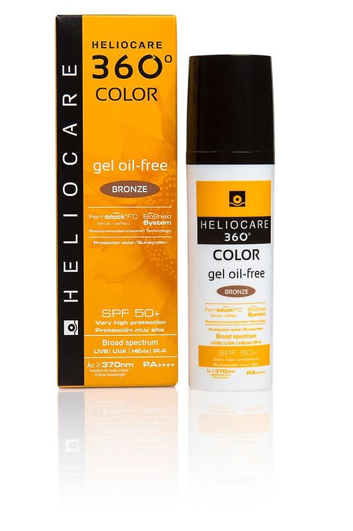 Heliocare® 360˚ Oil Free Gel Bronze SPF50 50ml
