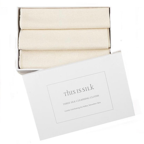 This is Silk Cleansing Cloths
