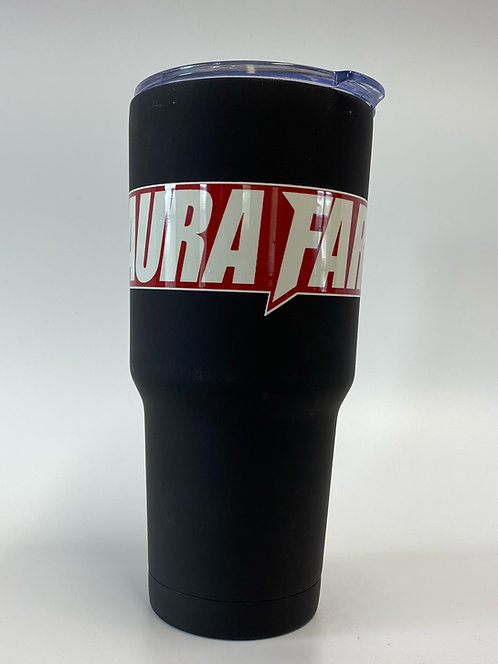 Laura Farms - 30 Ounce Insulated Tumbler (Red/White)
