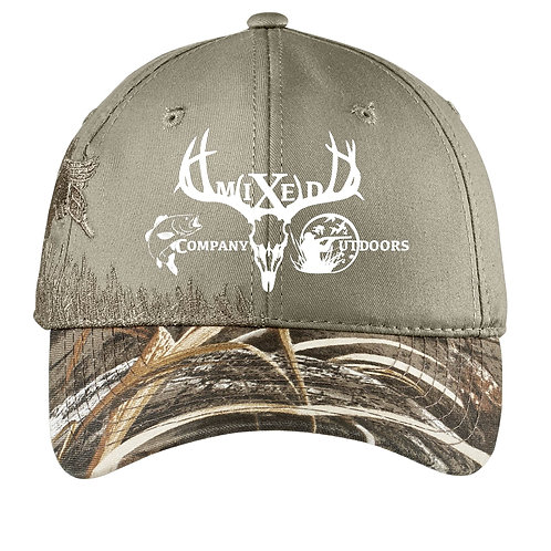 Embroidered Camouflage Cap - Duck