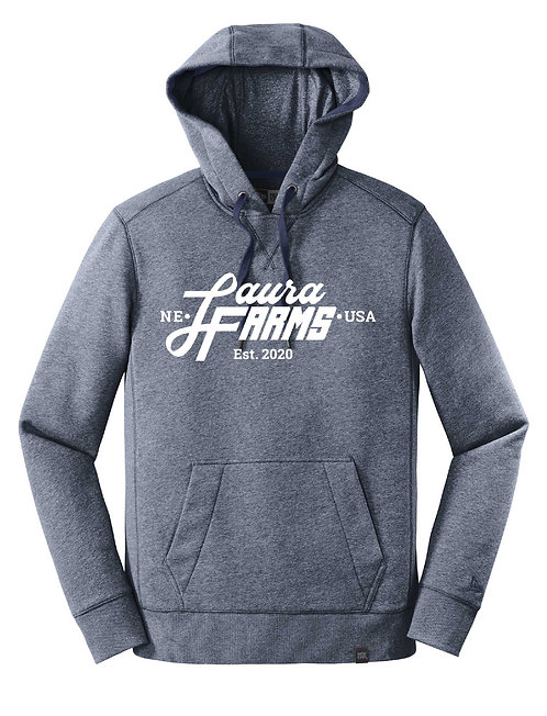 Laura Farms - New Era Adult Pullover Hoodie (Navy Twist)
