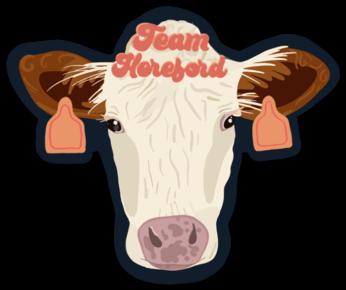 NYFG - Team Hereford Sticker