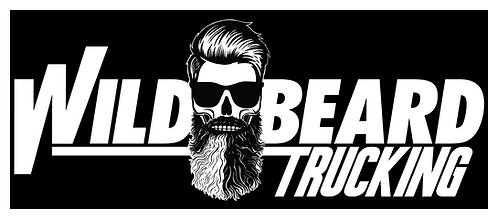 Wild Beard - Large Logo Sticker