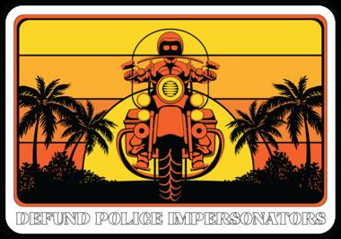 "Popo Medic - ""Florida Sunrise"" Sticker"