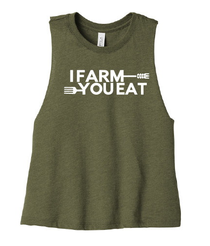 NYFG - I Farm You Eat - Cropped Tee