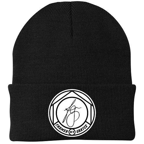Farmer Grayce - Knit Cap (Black)