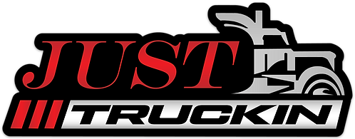 JustTruckin - Large Sticker