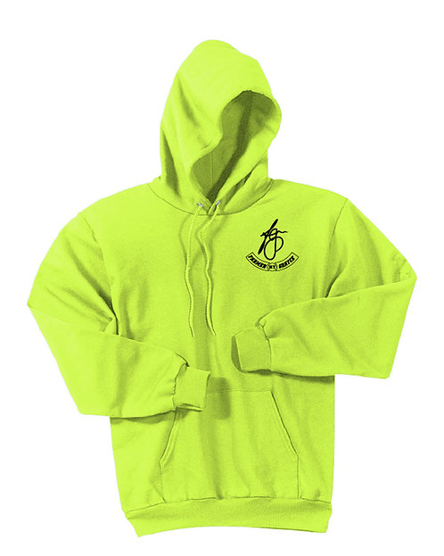 Farmer Grayce - Fleece Hoodie (Safety Green)