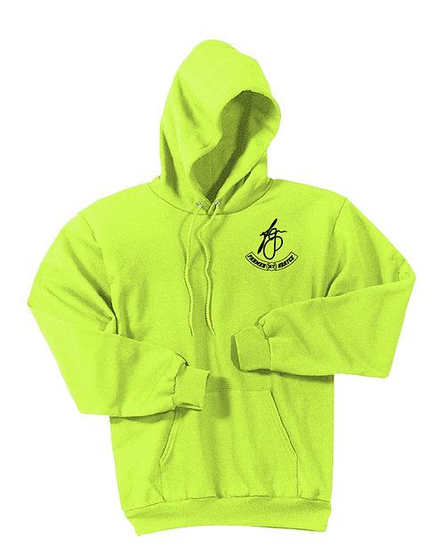 Farmer Grayce - Fleece Hoodie (Safety Green)