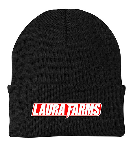 Laura Farms - Carhartt Watch Cap (Black/White/Red)