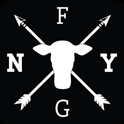 NYFG - Logo Sticker