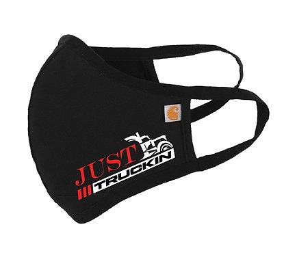 JustTruckin - Carhartt Cotton Masks (Black 3-Pack)
