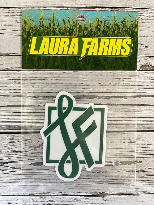 Laura Farms - Icon Sticker (Green)