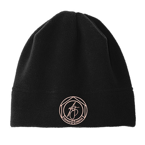 Farmer Grayce - Fleece Beanie (Black)