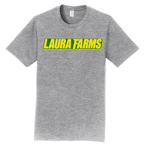 Laura Farms - Athletic Grey Short-Sleeve Tee