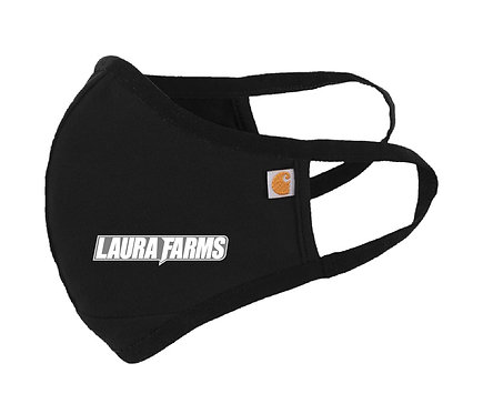 Laura Farms - Carhartt Cotton Masks (Black 3-Pack)