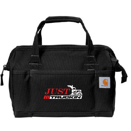 "JustTruckin - Carhartt 14"" Tool Bag (Black)"