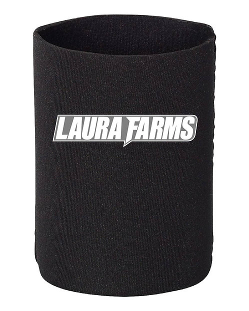 Laura Farms - Can Koozies (Black 3-Pack)