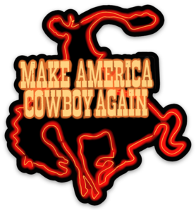 NYFG - Make America Cowboy Again Sticker
