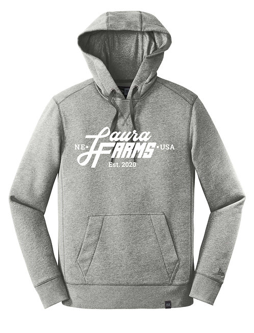 Adult Pullover Hoodie - Light Grey Twist