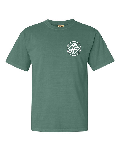 Laura Farms - Adult Logo Tee (Light Green)