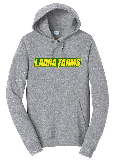 Laura Farms - Athletic Grey Hoodie