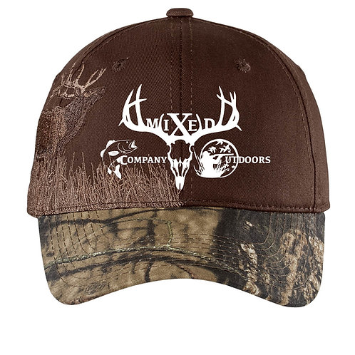 MCO - Embroidered Camouflage Cap - Elk