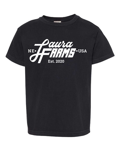Laura Farms - Youth Tee (Black)