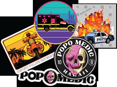 "Popo Medic - ""Sticker Pack"""