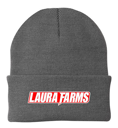 Laura Farms - Carhartt Watch Cap (Grey/White/Red)