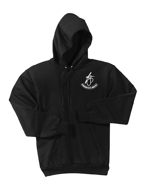 Farmer Grayce - Fleece Hoodie (Black)