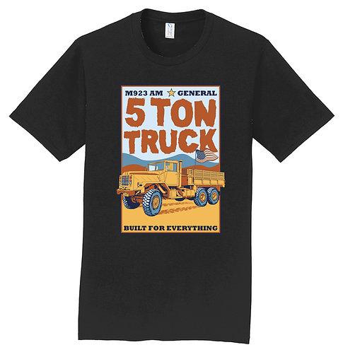 LEAAD Farms - 5 Ton Truck Short-Sleeve Tee (Black)