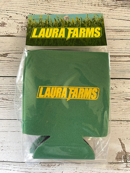 Laura Farms - Can Koozies (Green 2-Pack)