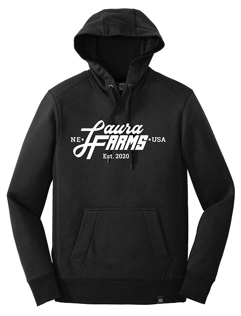 Laura Farms - New Era Adult Pullover Hoodie (Black)