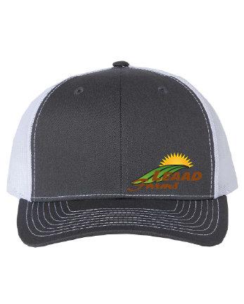 LEAAD Farms - Richardson Snapback Trucker Cap (Charcoal/White)