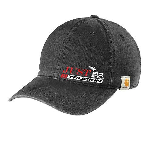 JustTruckin - Carhartt Cotton Canvas Hat (Black)