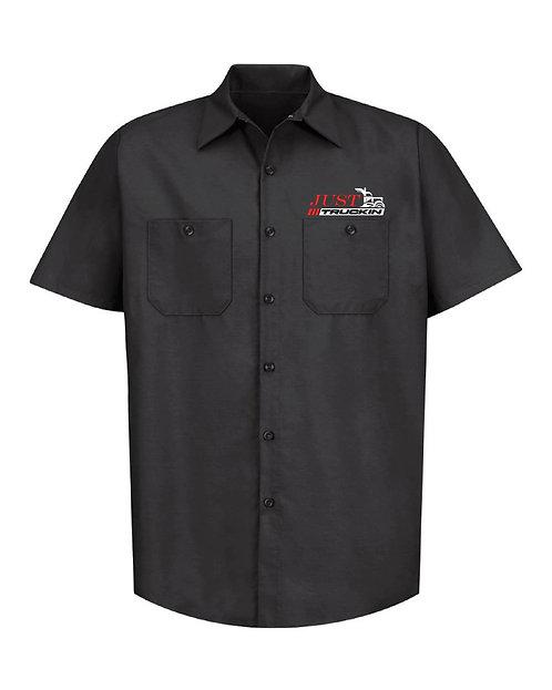 JustTruckin - Industrial Short-Sleeve Work Shirt