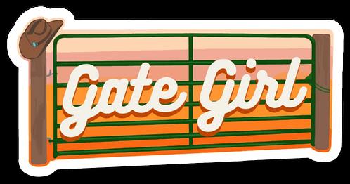 NYFG - Gate Girl Sticker