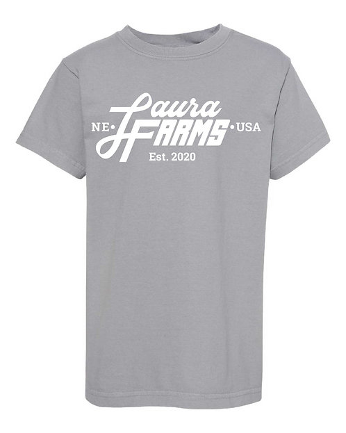 Laura Farms - Youth Tee (Granite)