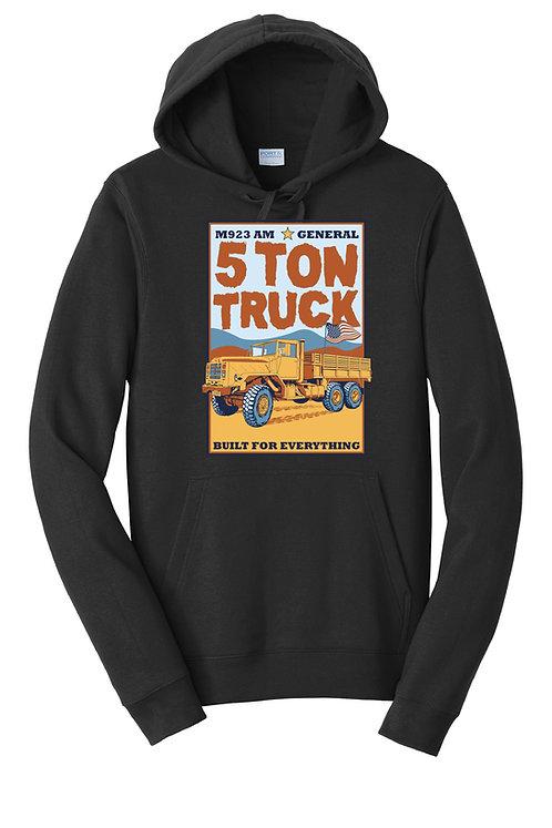 LEAAD Farms - 5 Ton Truck Hoodie (Black)