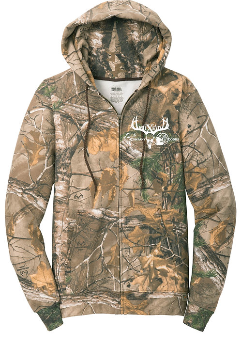MCO - Russell Outdoors Realtree Full-Zip Hooded Sweatshirt