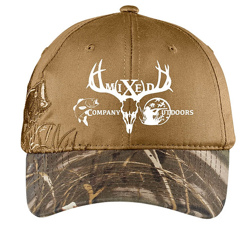 Embroidered Camouflage Cap - Bass